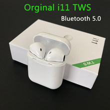 New i11 TWS air pods Wireless Stereo earbuds tws i11 ear pods better than i12 i7S i9s tws i10 tws for air dots iphoneXS MAX(China)