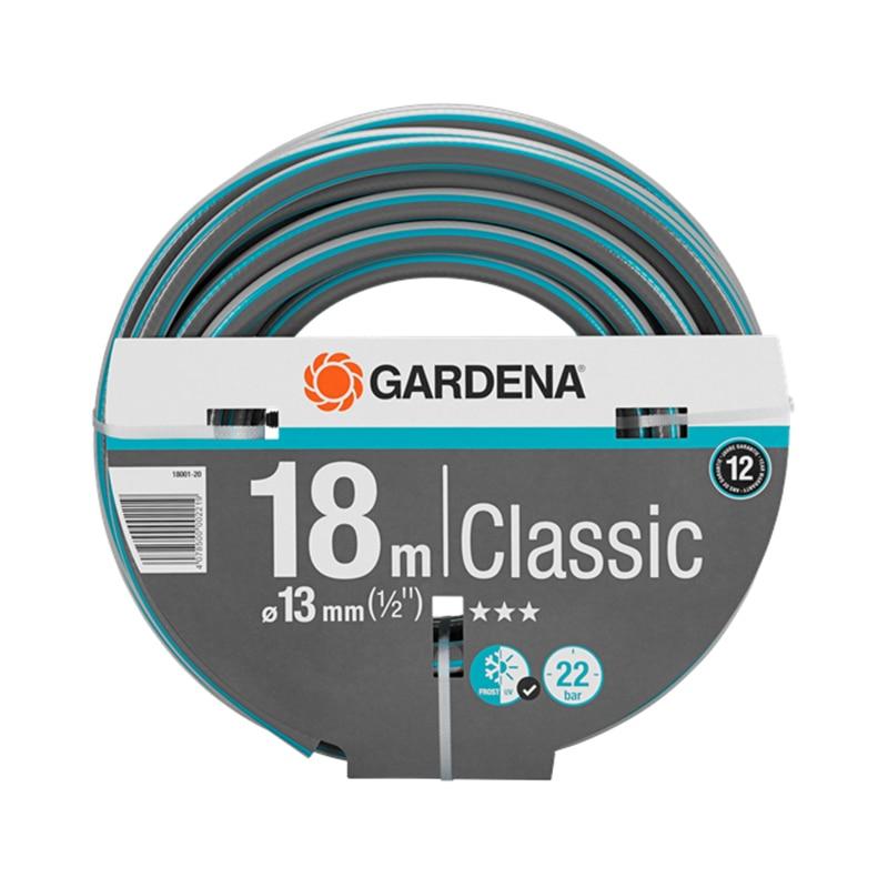 Garden Hose GARDENA Classic (18001-20) 6mm od x 4mm id black color 25m 82 02ft pu air tube pipe hose pneumatic hose brand new