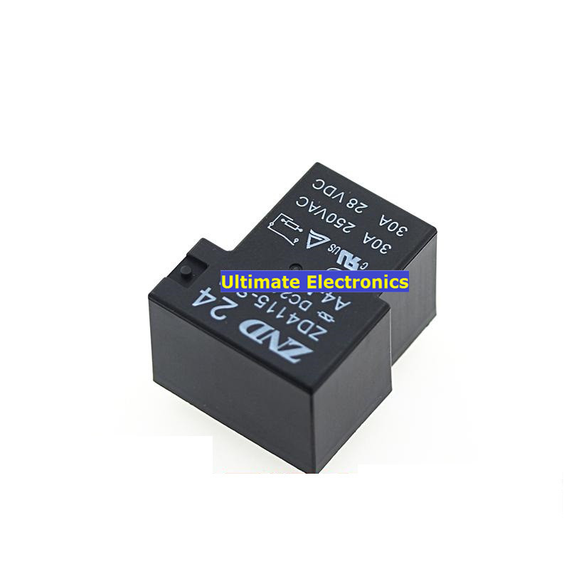 Beautiful 5pcs Relay Zd4115-s-a-dc24v-a4-m A Group Of Normally Open 4 Foot 30a250vac T90 Complete Range Of Articles