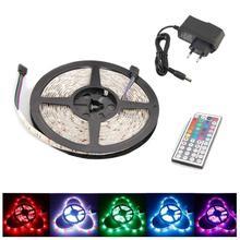 Set of 1 Strip 2M LED Light Band 5050 RGB + Power Supply 12V + IR Remote Control 44 Keys