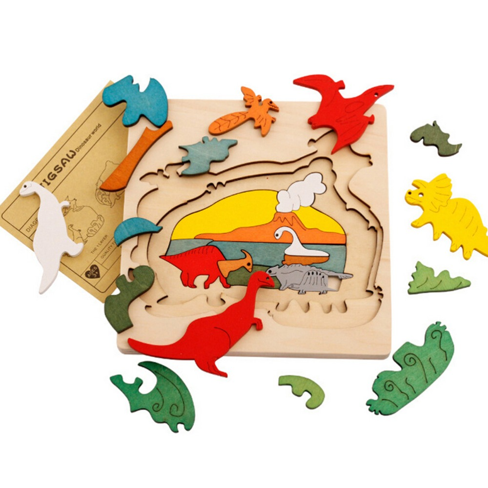 Uncategorized Child Puzzles popular jigsaw puzzles toys with animals pattern for child buy 3d animal wooden kids children education and learning more