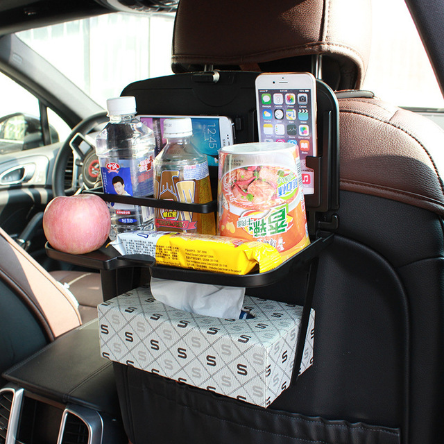 Car chair back table tray chair back door plate debris frame car with cup holder drinks & Car chair back table tray chair back door plate debris frame car ...