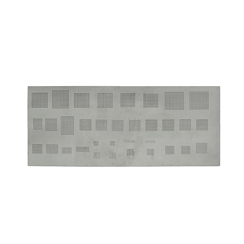 Купить с кэшбэком 33 in 1 universal BGA stencils for BGA reworking stencil