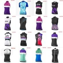 2018 Liv женский короткий рукав Велоспорт Джерси дышащая быстросохнущая велосипедная одежда полный молния велосипед Топы футболка бесплатная доставка