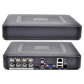цена на H.264 1080N Security 8CH CCTV DVR VGA HDMI 8 Channel Mini CCTV DVR 960H 15fps DVR RS485 For Analog Camera IP Camera
