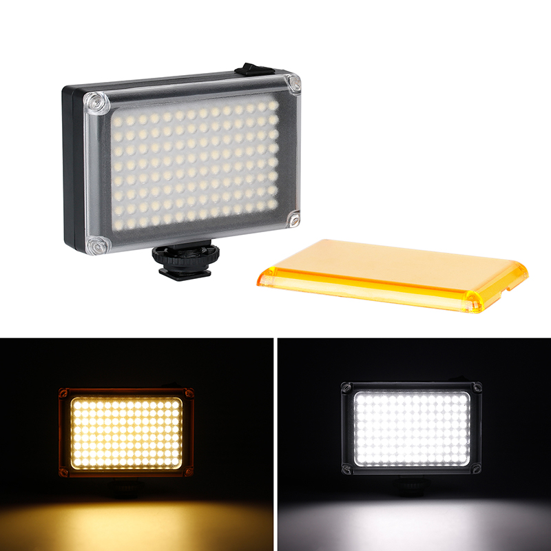 Image 2 - Ulanzi 112 Mini LED Video Light Pocket Vlog Continues Fill Lighting On Camera for Canon Nikon DSLR Moza Mini S Zhiyun Smooth 4-in Photo Studio Accessories from Consumer Electronics
