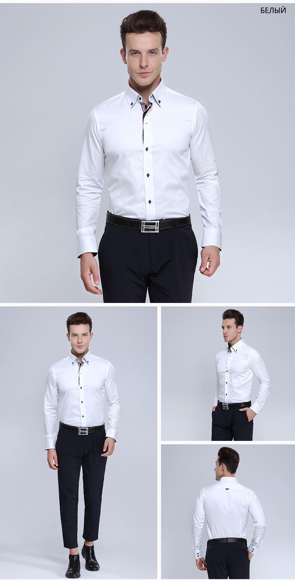Slim Fit Men's flower printed Shirts Fashion printing