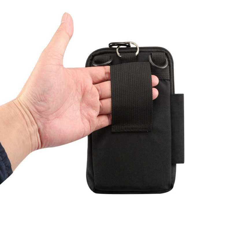 Сумка для мобильного телефона чехол для Xiaomi Redmi 4x спортивный походный крюк поясные сумки для Xiaomi Redmi 4 Pro 4A mi 6 mi 5s 5C Чехол Капа