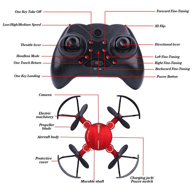 2.4 X16 0.3MP Quadcopter