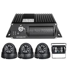AHD 1080 Dual SD 256G Vehicle Car Mobile Dvr Front Indoor Outdoor IR Car font b