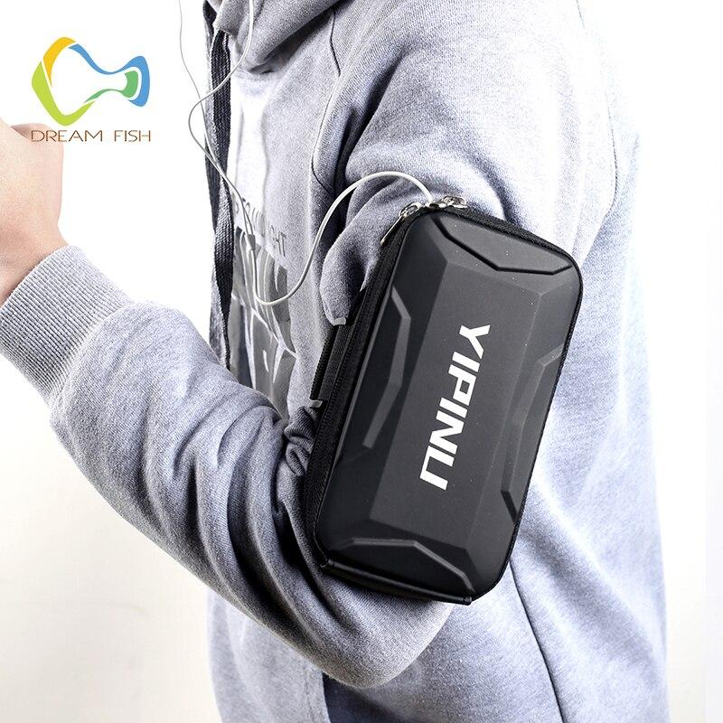 Traum Fisch 6 Zoll Armband für iPhone Max Smart Fall Telefon Halter Lauf Handys Sport männer Hand Taschen schlinge für Samsung