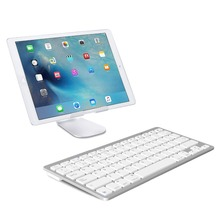 Landas USB Wireless Bluetooth Keyboard French Layout For Desktops Smartphone Windows XP 7 8 10