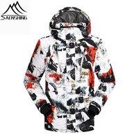 2016 Winter Ski Jacket Men Sportsman Wear Waterproof Windproof Snowboard Coat For Male Mountain Down Jacket