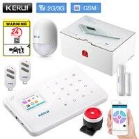 KERUI G183 WCDMA 3G APP Remote Control Wireless Smart Home Security GSM 3G Alarm System Burglar