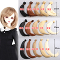 1PCS 10cm 15cm 25cm 35cm width 100cm length long 1/3 1/4 1/6 BJD Doll Wig Black Falxen Blown Golden Khaki SD bjd DIY Wigs Hair