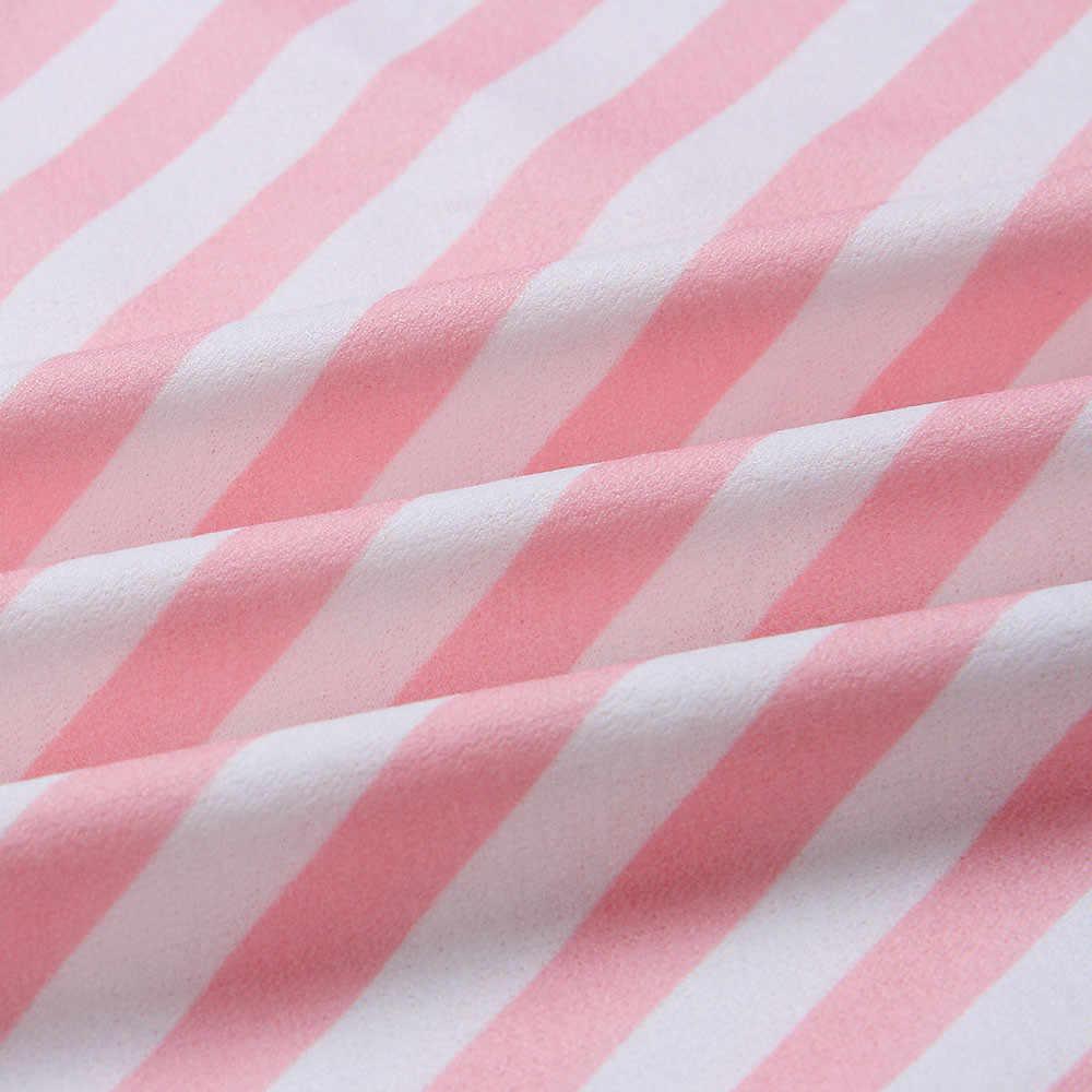 CHAMSGEND Women Sexy Stripe Buttons Off Shoulder Sleeveless Dress Princess Dress plus size Summer maxi Dresses C3059