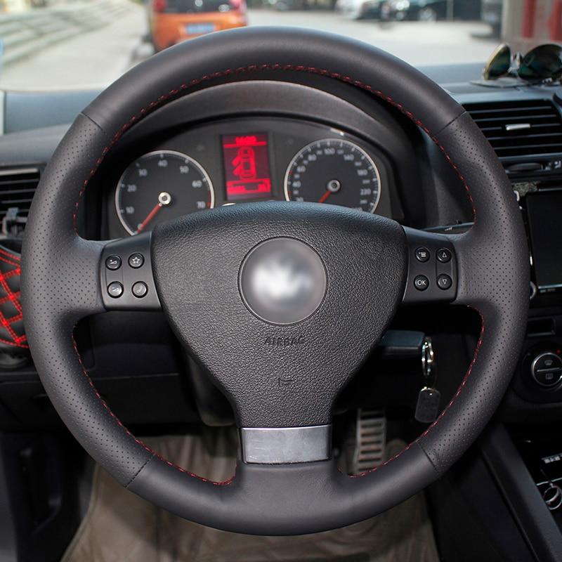 Bersinar gandum Kereta Stereng Roda Penutup untuk Volkswagen Golf 5 - Aksesori dalaman kereta - Foto 3