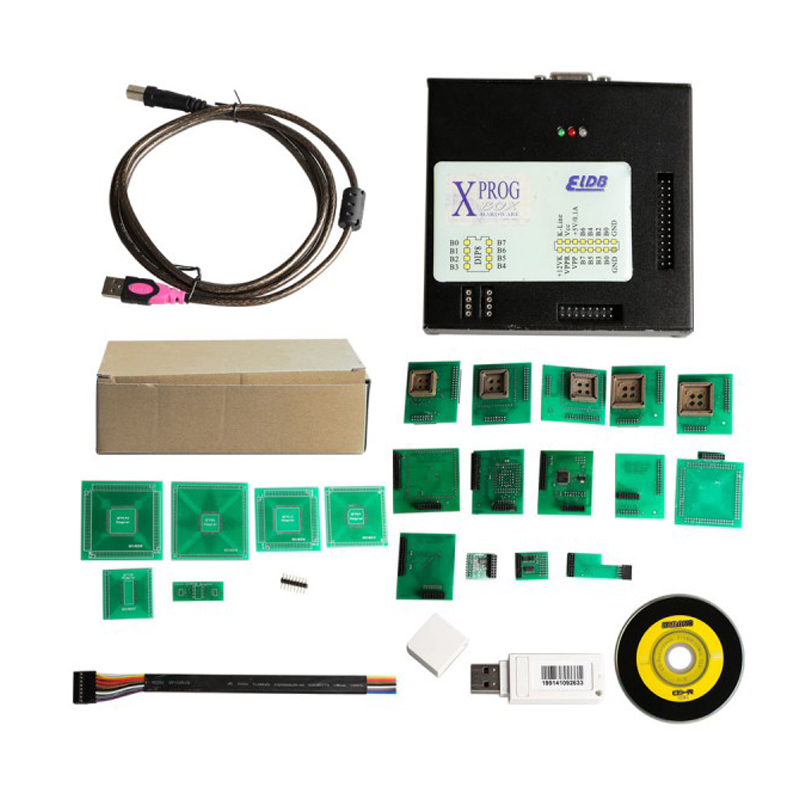 Последняя версия XPROG 5.60 X-PROG-M xprog программист Box 5.60 ecu автомобиля программист OBD2 Чип ECU Инструмент настройки LR10