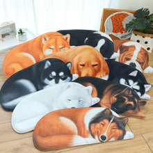 3D cartoon anime carpet / childrens toy mat baby crawling living room sofa bed side