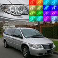 For Chrysler Voyager Grand Voyager 2005 2006 2007 Excellent Ultrabright RGB Multi-Color LED Angel Eyes Halo Rings led light