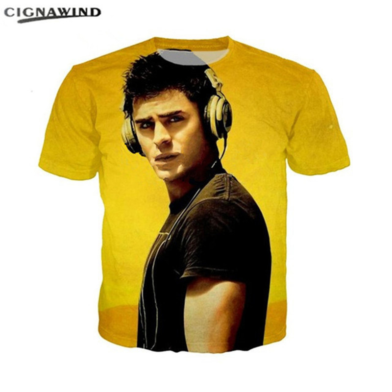 1d88ee31f0102 Buy zac efron shirt and get free shipping on AliExpress.com