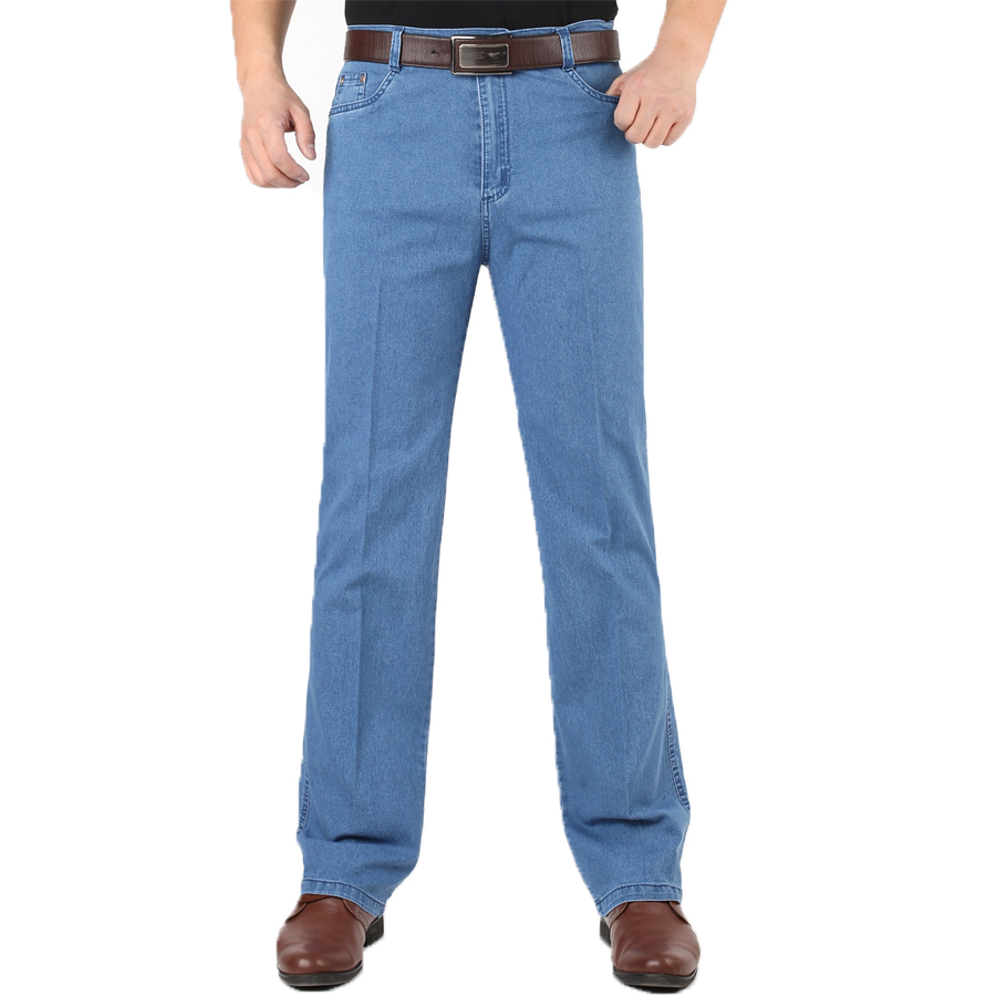 New Fashion Style Summer Time Men Casual Wear Jeans Good Quality Straight Three Colors Solid