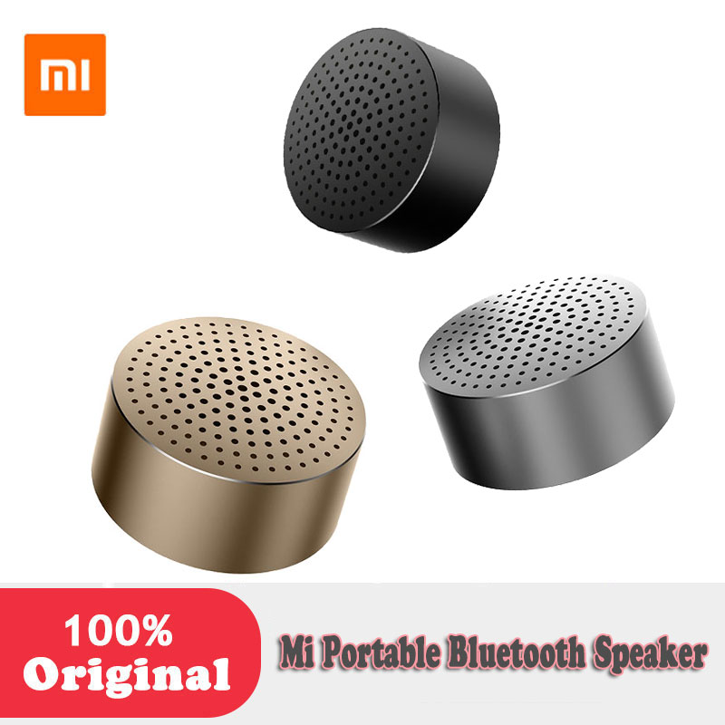 Original Xiaomi Mi Bluetooth Speaker mini Portable Stereo sound Music Player original xiaomi mi bluetooth speaker stereo portable wireless mini mp3 player music speakers hands free calls