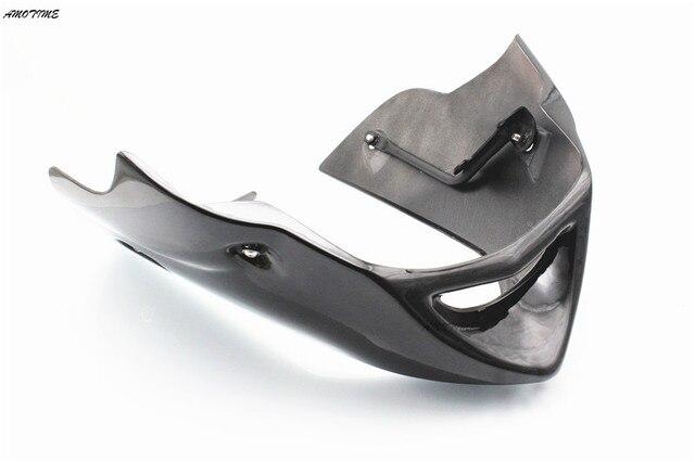 Dla Yamaha FZ6 Fazer 600 S2 (2004-2010) brzucha dolna miska Fairing błąd Spoiler Puntale czarny