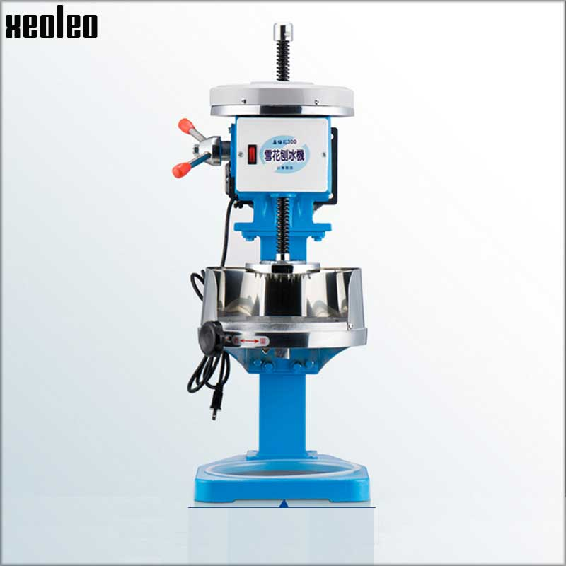 xeoleo commercial ice shaver 14hp ice crushers automatic continuous ice slushies electric ice planer - Commercial Snow Cone Machine