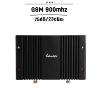 Cover 800 Square Meters Area Lintratek GSM 900 mhz 75dB Gain Mobile Phone Signal Booster MGC 23dBm Power Cell Amplifier Repeater