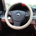 Different size 36cm 38cm 39cm genuine leather steering wheel case car accessories steering wheel cover lzh