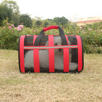 Oxford Dogs Cat Handbag Carrier Folding Pet Cage Collapsible Puppy Crate Carrying Bags Pets Supplies Transport Chien Accessories фото