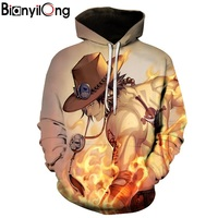 NEW Fashion Sweatshirts Men Women Tracksuits Tops Print 3D Hooded Anime One Piece AS Hoodies Thin