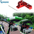 Ciclo de Bicicleta De Corrida Sela Trilho de Alumínio Super Leve Assento Da Bicicleta Braçadeira montagem para o esporte câmera gopro hero 3 + 4 para xiaomi gp284