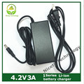 4.2v3A charger  4.2v 3A lithium battery charger for 1 series  lithium battery pack charger good quality