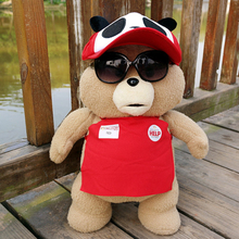 Hot Top Quality 46cm TED Bear Dolls Original Soft Teddy Bear Stuffed Doll Plush Animals Plush Dolls Baby Birthday Gift Kids Toys