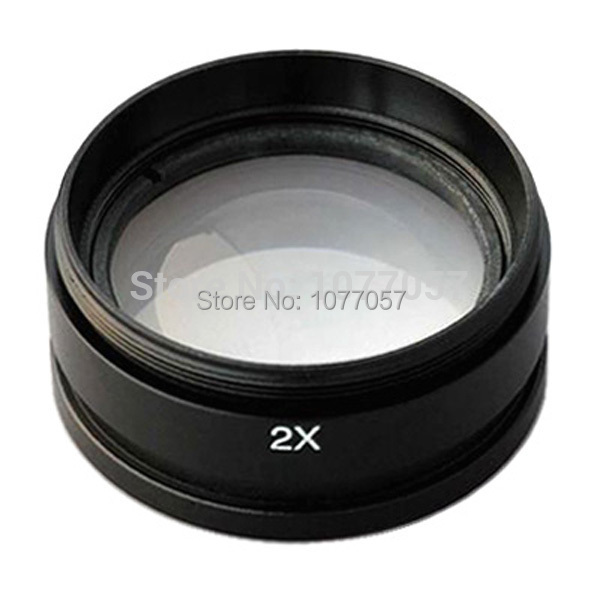 Hot Sale! CE ,ISO ,  2x  barlow lens/ 2x aux objective  for SZM ZOOM Stereo Microscope, well sold in EU , USA hot sale 2x 250g 100