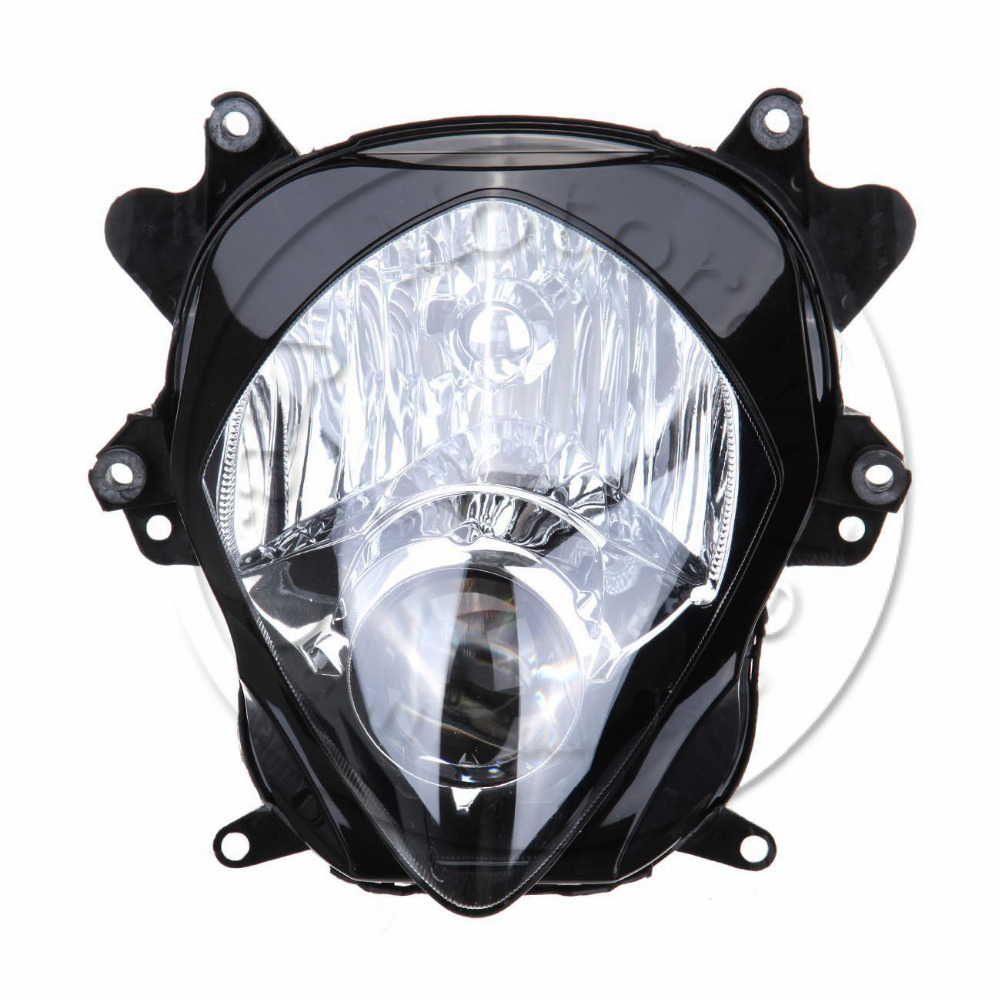 Motorcycle Front Headlight For SUZUKI GSX-R1000 2007 2008 GSXR 1000 GSXR1000 K7 Head Light Lamp Assembly Headlamp Lighting Parts for suzuki gsxr 1000 gsx r 1000 gsxr1000 k7 2007 2008 07 08 motorcycle headlight front head lights lamp headlamp clear lens