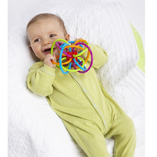Baby Toddler Plastic Hand Bell Rattle Toy 0-12 Months