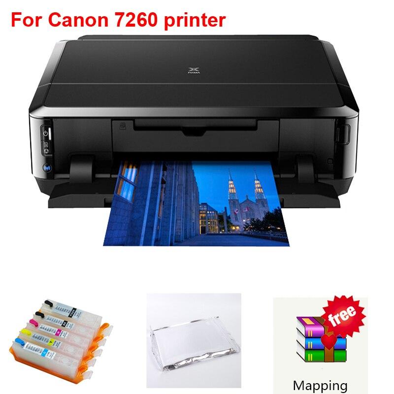 For Canon 7260 printer Edible ink printer wifi DIY present /digitai cake /lollipop/cake/ printing machine цена 2017