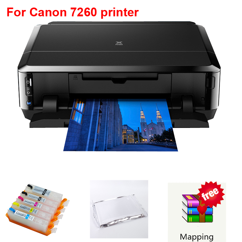 OYfame For Canon 7260 Printer Edible Ink Printer Wifi DIY Present Digitai Cake Lollipop Cake Printing Machine