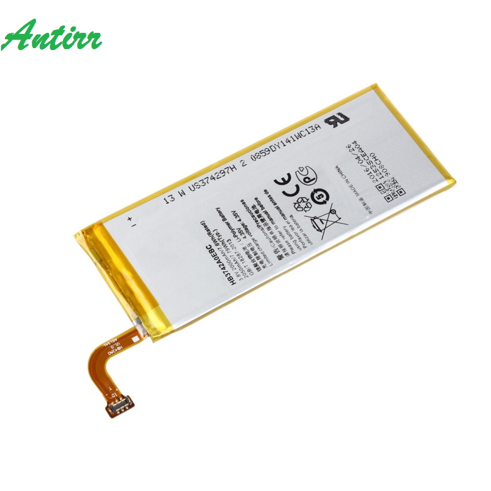 Antirr 3 8V 2000mAh HB3742A0EBC Battery For Huawei Ascend P6