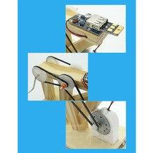 DIY Dynamo Generator Model Scientific physical experiment tools  Kits Children Creative Educational