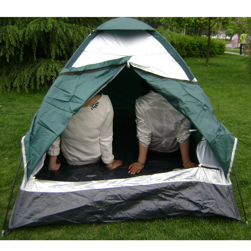 AOTU Ultra light Tent Two People C&ing FRP Rod Tent For Hiking Trekking Backpacking Fishing Tourist High Quality Outdoor Tent-in Tents from Sports ... & AOTU Ultra light Tent Two People Camping FRP Rod Tent For Hiking ...