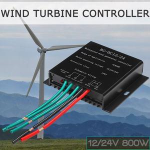 12V/24V 800W Wind Turbines Generator Controller Waterproof Battery Charge Controller Regulator Overvoltage Protection(China)