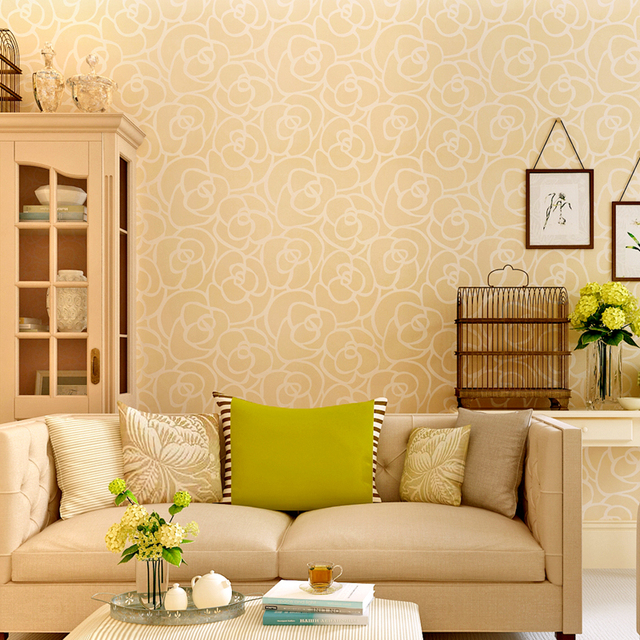 Hanmero New Style Natural Home Decoration Wallpaper For Living Room