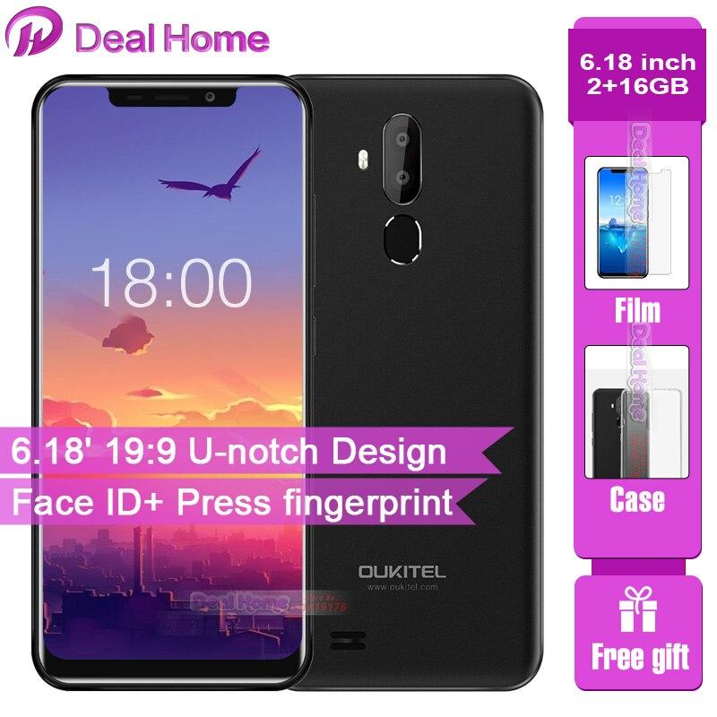 Téléphone portable Original OUKITEL C12 Pro 6.18