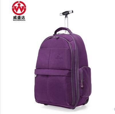 Hommes Trolley sacs à dos Oxford voyage bagages sac à dos roues à roulettes sac à roulettes bagages femmes voyage Trolley bagages valise