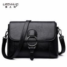 LIRENNIAO Crossbody Taschen für Frauen Mode Split Leder Handtasche 2 Straps Luxus-handtaschenfrauen-designer sac ein haupt femme