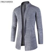 Ropa De Hombre Autumn 2018 Men' s Wear Fashion Cardigan Men Sweater Coat